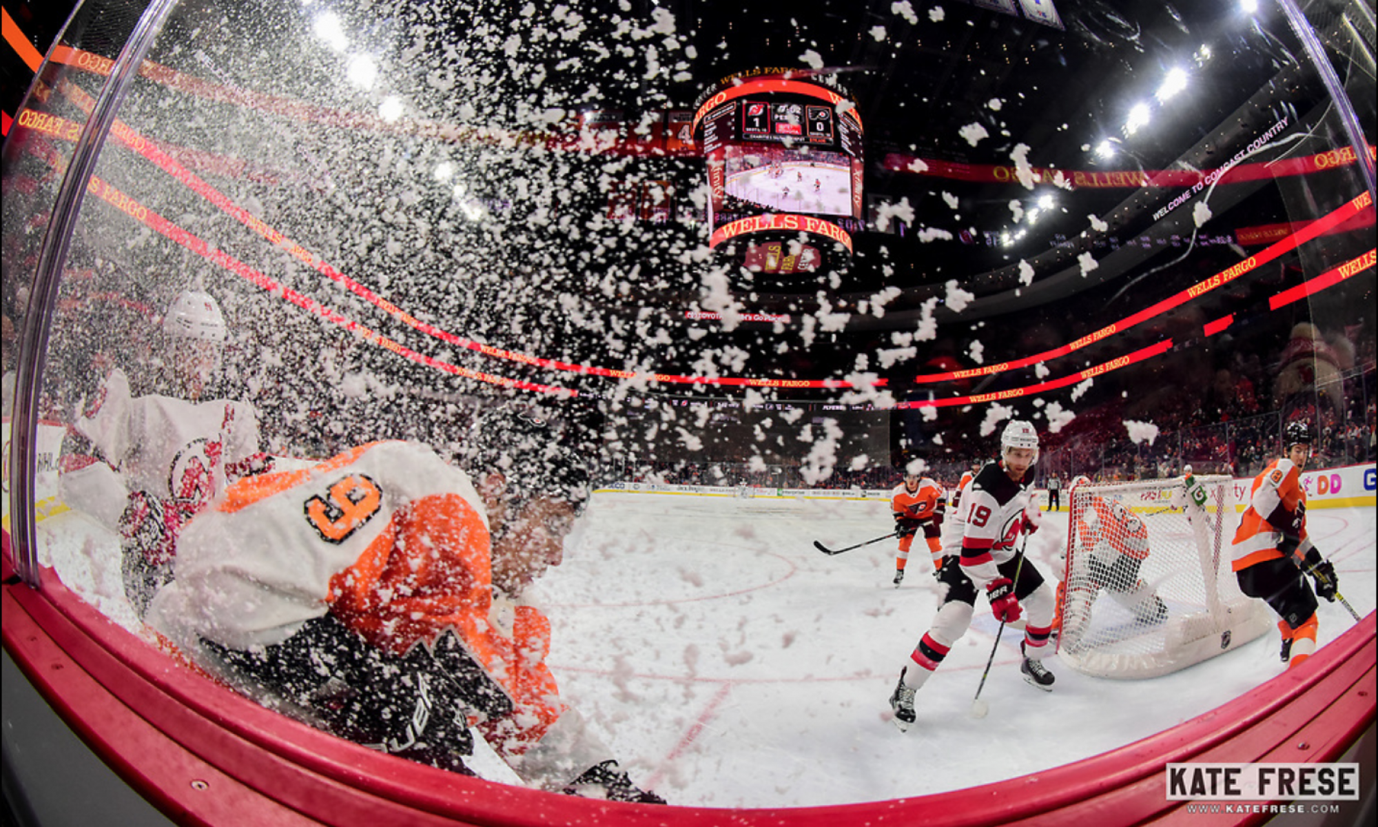Flyers Rinkside